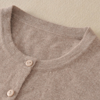 100% Cashmere Sweater for Women Winter&Spring O neck High Quality Cardigans Lady Hot Sale Pure Cashmere Knit Outwear Clothes