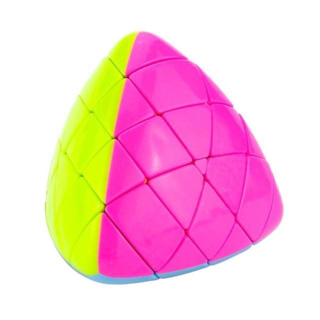 Yongjun MoYu Aosu Pastelito de Arroz Mastermorphix Magic Speed Cube Stickerless Twisty Cubos Del Rompecabezas Juguetes Para Los Niños