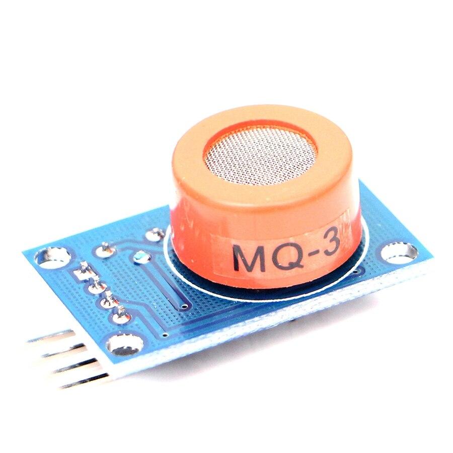 5pcs/lot MQ-3 Alcohol Ethanol Sensor Breath Gas Detector Ethanol Detection