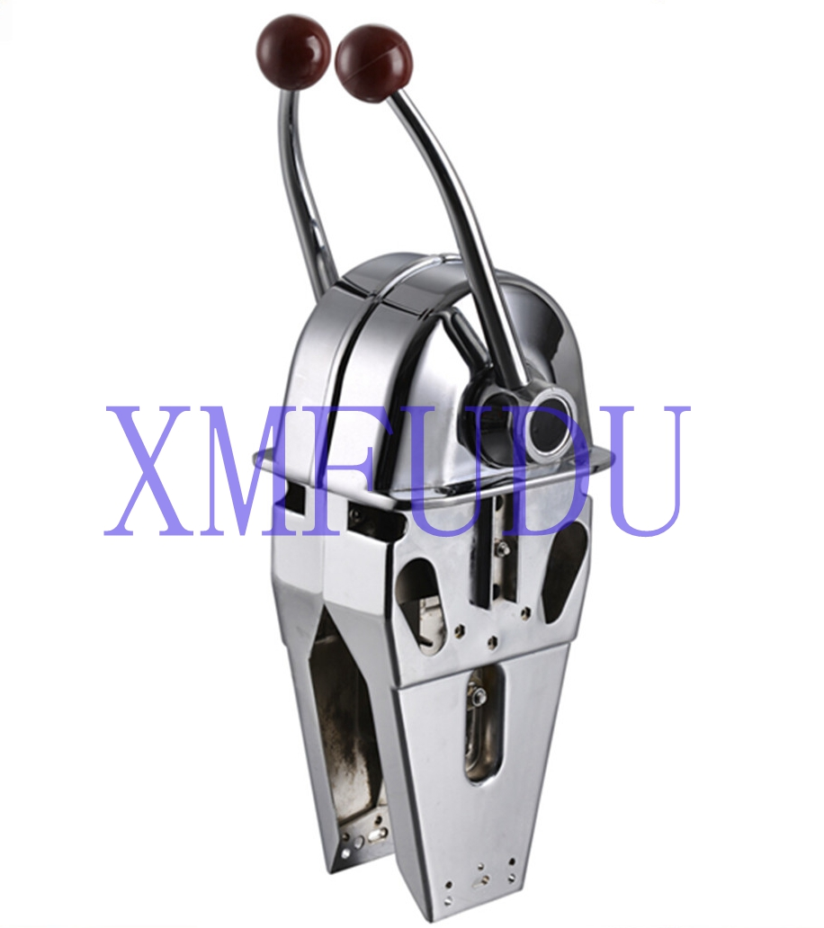 Twin Lever Single Engine Control Universal For Boat Marine Distinctive