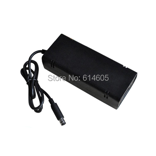 UK AC Adapter Charger Power Supply Cable Cord for Microsoft Xbox 360 E Console