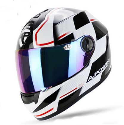 Latest Version Racing Stripes Rossi Carding Motorcycle Helmet Cool