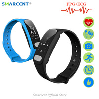 R11 Smart Bracelet Pulse Heart Rate Monitor Fitness Tracker Smart Band Watch ECG PPG Blood Pressure Wristband For iphone Android