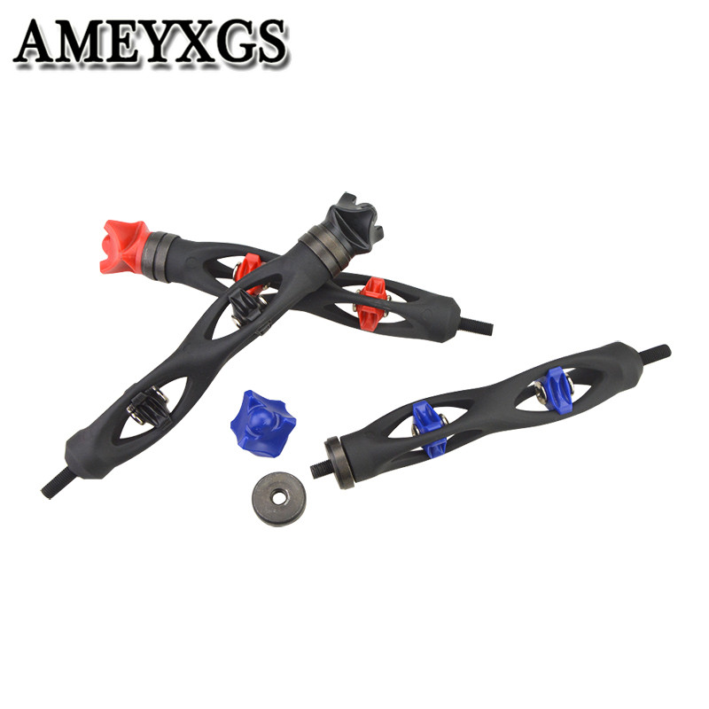 1Pc Archery Compound Bow Stabilizer 6inch Damper Shock Absorber Stabilizer For Bow Arrow Outdoor Hunting Shooting Accessories-in Bow & Arrow from Sports & Entertainment