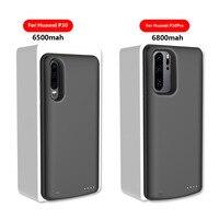 6500mAh Mobile Power Bank Charging Box for Huawei P30 Battery Case Charger 6800mAh Battery Case Charging Box for Huawei P30 Pro