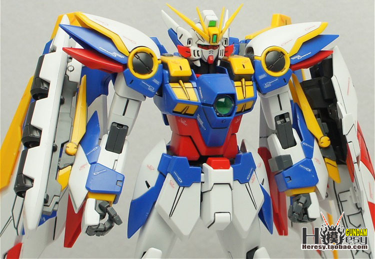 MG 1/100 030 EW Ka XXXG-01W WING card Wing Gundam model can be deformed free shipping new 1 100 mg 20cm wing zero ew high fly gundam to 1 100 angel hair loss bracket change parts