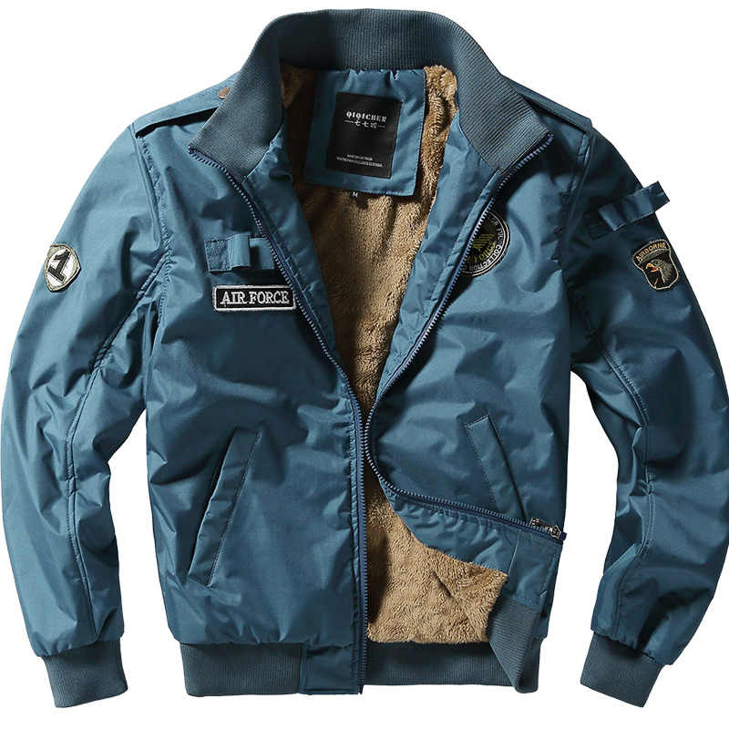 Warm Military Bomber Tactical Jackets Mens Outwear Fleece 2020 Jacket Men Thick