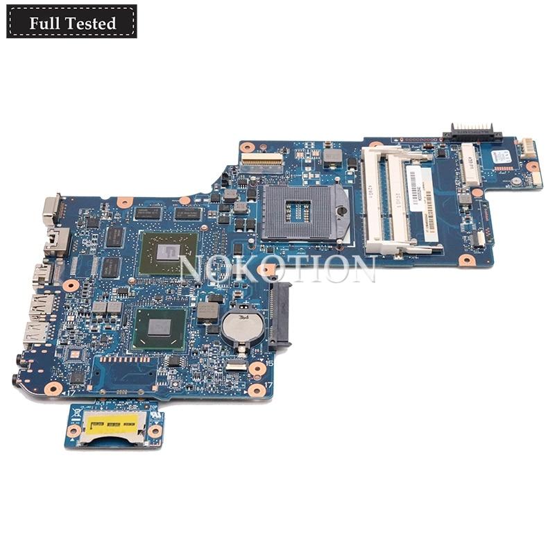 NOKOTION nouvelle carte mère d'ordinateur portable H000052840 pour toshiba satellite C870 L870 L875 SLJ8E HM76 Radeon HD 7610 M carte graphique principale