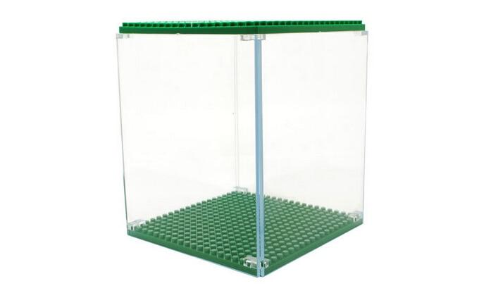 Borong Weagle Diamond Blok Kotak Paparan untuk Spongebob Hellokitty - Mainan pembinaan - Foto 4