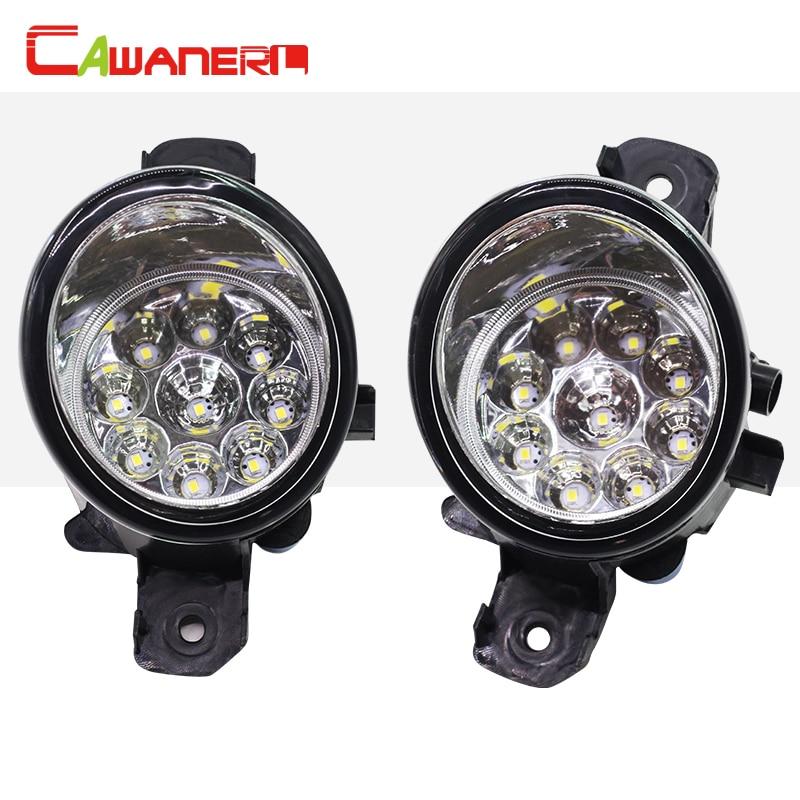 Cawanerl Auto Styling LED-Licht Nebelscheinwerfer Tagfahrlicht Für Renault Master 3/III Pritsche/Fahrgestell (EV,...
