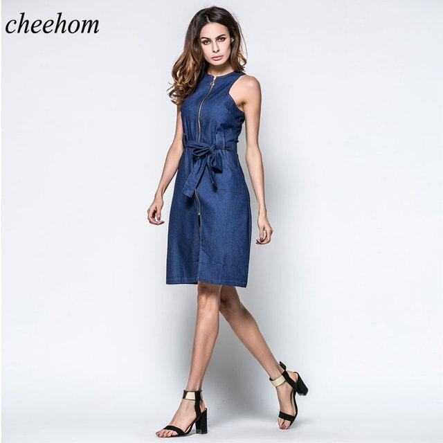 9e746020410 джинсовые платья для женщин сарафан джинсовый Джинсовое платье халат  женский ретро платья летние длинные платья платья