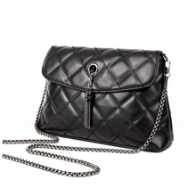 women's Single Shoulder Bag Messenger Satchel Quilted Purse Handbag Black