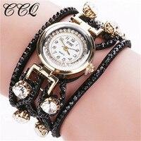 CCQ Woman Watches 2016 Brand Luxury Bracelet Watch Women Wristwatch Ladies Dress Quartz Watch 2016 HOT
