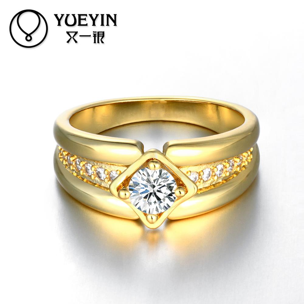 cut brilliant stone rose from item solitaire square gold in rings engagement yellow cz white men platinum plated jewelry ring diamond color
