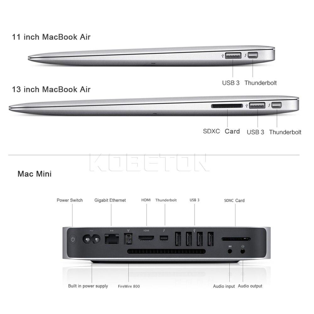 kebidu Mini Display Port DP to HDMI Adapter For MacBook Pro Air ...