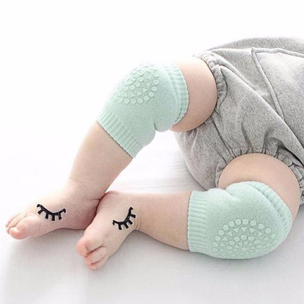 2 Pair Baby Knee Pad Kids Safety Crawling Elbow Cushion Protect Baby Knee Cap Co