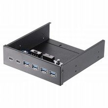 Uneatop ST1161 Optical Drive Bay 19/20 Pin to USB 3.0 Type-A & Type-C Front Panel Extention Mobile Rack