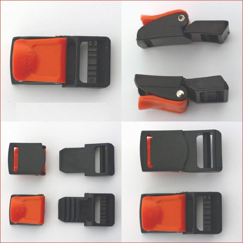 1 Sets ECE Quick Release Buckle Motorcycle Helmet Clips Capacete Accessory 3 Gear Parts