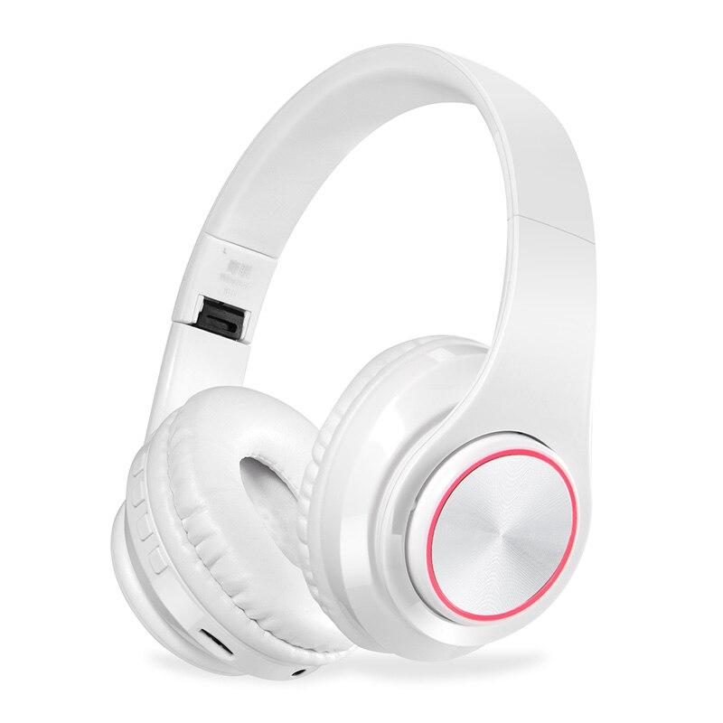 Саго bh3 Беспроводной наушников светодиодный свет звук стерео bluetooth гарнитуры Поддержка TF 3.5 мм слот Встроенный микрофон для Samsung Xiaomi