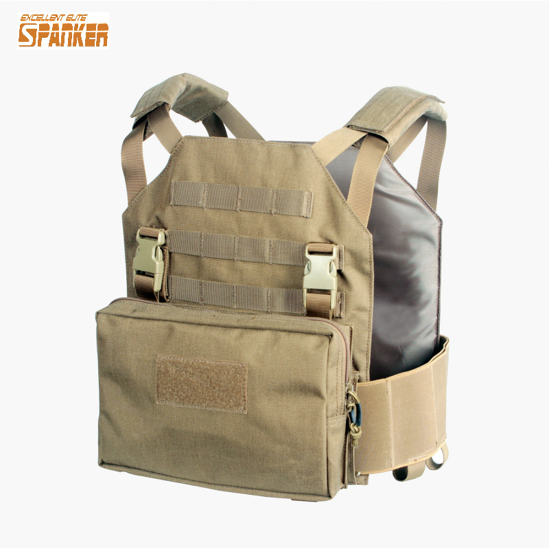 Tactical Modular Vest  with Module Sundries Bag Military Training Combat Camouflage Vest Hunting Paintball Equipment men s military tactical hunting vest police paintball wargame wear body molle armor hunting vest cs combat hunter equipment vest