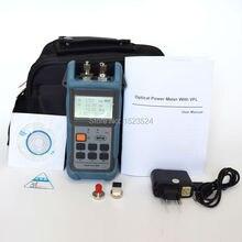 TL503 Medidor de Potencia Óptica Localizador Visual de Fallos de Fibra Óptica Integrado Probador (Medidor de Potencia y Localizador Visual de Fallos de fibra 5 km)