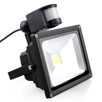 20W IP65 AC85 265V Waterproof PIR Motion Sensor Induction Sense Led Refletor Lamp LED Flood Light
