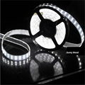 5m/roll Free shipping LED strip 120pcs/m ,24W/M SMD 5050 LED RGB softstrip ,water proof IP67 12V DC Epistar LED