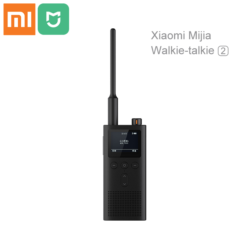 Xiaomi Mijia 5200mAh Walkie talkie 2 IP65 Waterproof and dust proof Portable Outdoor Radio transceiver UVHF