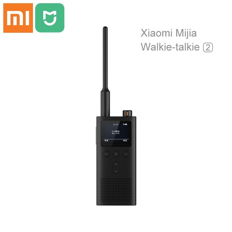 Xiaomi Mijia 5200 mAh talkie-walkie 2 IP65 étanche et étanche à la poussière Portable émetteur-récepteur de Radio extérieur UVHF double bande interphone