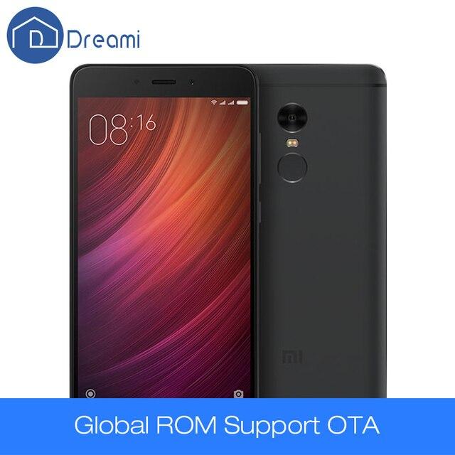 Dreami Оригинальный Xiaomi Redmi Note 4 Премьер 3 ГБ RAM 32 ГБ ROM MTK Helio X20 Дека Core 13MP Примечание Мобильного Телефона Отпечатков Пальцев Мобильный Телефон