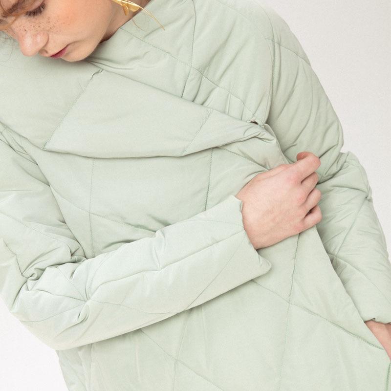Mode Asymétrique Casual Light Couleur Corée Bouton De Manches Green Parka Hiver Couvert Pleine xitao Arrivée Zll2282 2018 Nouvelle Solide Zll2282 white Femmes Iwq7UPOC