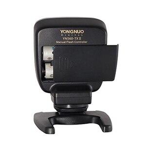Image 3 - YN560TX II YN560 TX NII Wireless Flash Controller and Commander for Yongnuo YN 560III YN560TX Speedlite for Nikon DSLR Newest