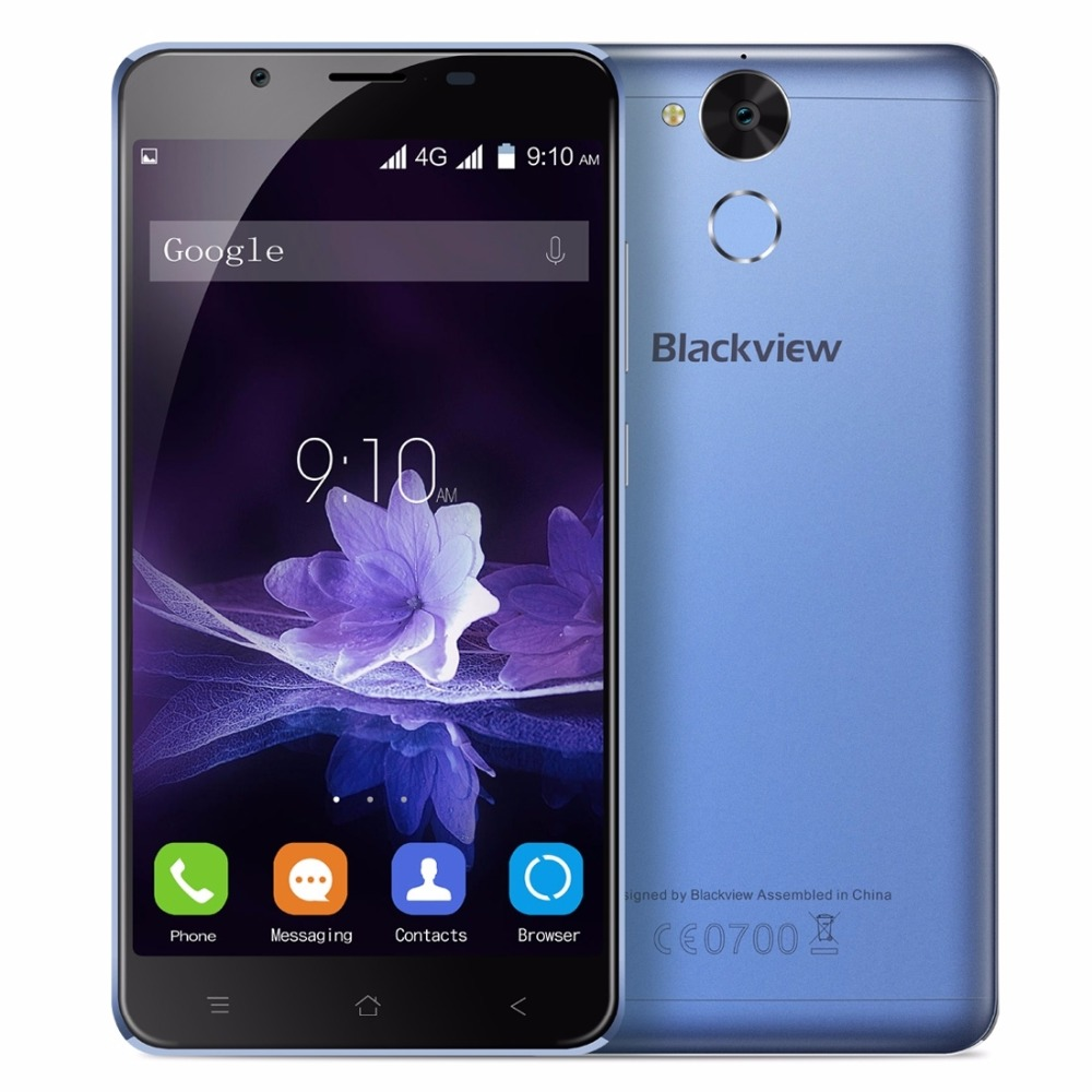Blackview P2 Smartphone 5 5 inch FHD Screen 4GB RAM 64GB ROM Android 6 0 MTK6750T