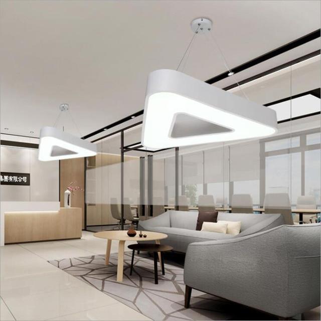 Moderne led hanglamp creatieve persoonlijkheid kantoor for Moderne verlichting eetkamer