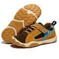 Crianças respirável Sapatos Sapatos Meninos Meninas Sapatos Nova Marca De Couro Crianças Sapatilhas Sapatos de Desporto Moda Casual Crianças Sneakers Menino