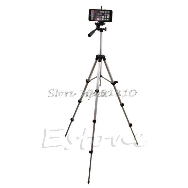 more photos ad31f 33ef2 Aluminium Camera Stand Tripod Holder+Remote Bluetooth Control For Iphone 6S  6 5S Z09 Drop ship