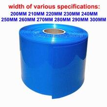 1M 18650 Lithium Batterij Pvc Krimpkous Buisvormige Batterij Cover Pvc Krimpkous Film Isolatie Krimpen Lederen