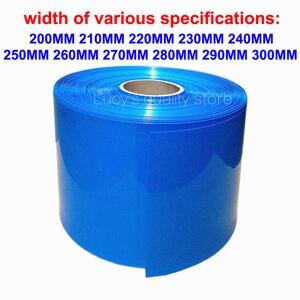 Image 1 - 1M 18650 batterie au Lithium PVC thermorétractable tubulaire batterie couverture PVC thermorétractable Film isolation rétractable cuir