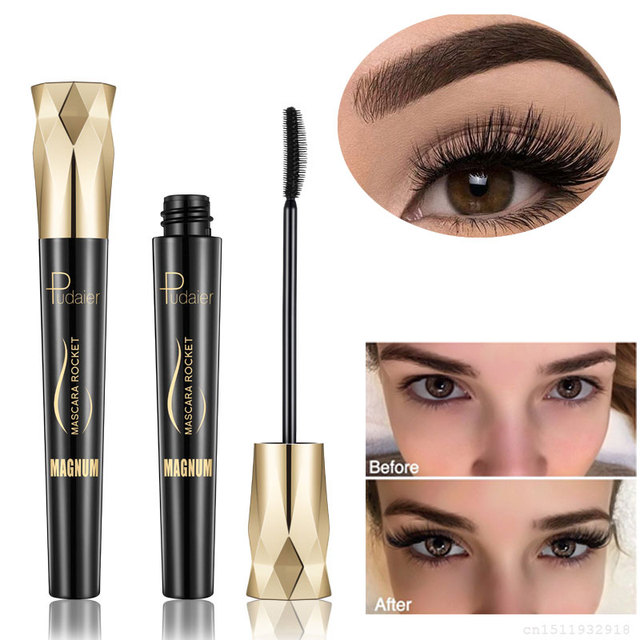 FRESHME Fiber Lash Mascara For Eyelashes Extension Black Thick Length Long Curling 4d Eye Lashes Mascara Rimel Makeup Cosmetic