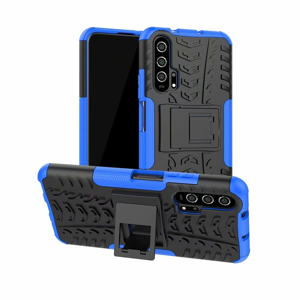 for Funda Huawei Honor 20 Case Rugged Silicone Armor Shockproof Hard Cover for Huawei Honor 20 Case Honor 20 pro чехол image