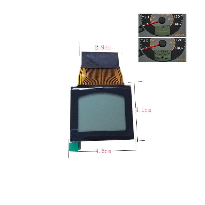 imágenes para Envío gratis Auto VDO Pantalla LCD Reparación del Pixel de Clúster para Nissan QUEST 2004 2005 2006 pantalla LCD de pantalla del tablero de instrumentos