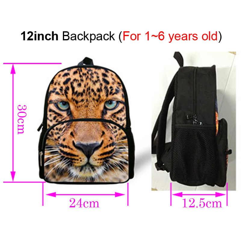 12 Inch Hot Zoo Animals Print Backpack For Children Eagle Print Bag For Kids  Boys Preschool Bags Backpacks For Baby Kindergarten-in School Bags from  Luggage ... 0465bd24b22d5