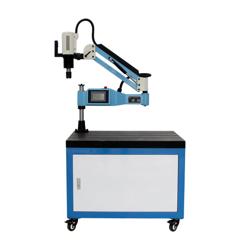 CE 220V M6 M24 Vertical Type Electric Tapping Machine Electric Tapper Tapping Tool Machine working Taps