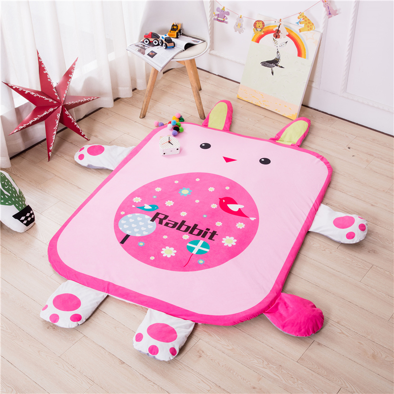 Tiger Rabbit cat elephant flowers Soft Play mat Blanket Pad twin Fitness Frame Educational Baby Toys Climb Crawling Baby Gym actionclub 0 2year baby toy baby play mat game boys girls educational crawling mat play gym kids blanket carpet