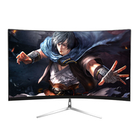 Anmite 21.5(22) inch high definition curved LCD computer monitor game office ultra thin display screen
