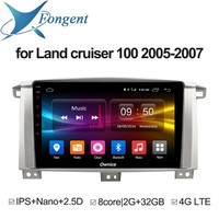 for Toyota Land cruiser 100 2005 2006 2007 Car Intelligent Multimedia player Android Unit dvd Vehicle GPS Navigator AutoRadio
