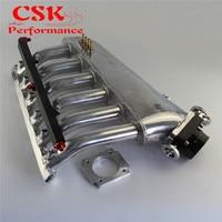 Впускной коллектор w/дроссельной заслонки топлива Rail Kit Подходит для BMW E36 E46 M50 M52 M54 325i 328i 323i M3 Z3 E39 528i