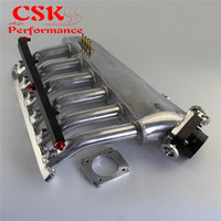 Intake Manifold w/Throttle body Fuel Rail Kit Fits For BMW E36 E46 M50 M52 M54 325i 328i 323i M3 Z3 E39 528i
