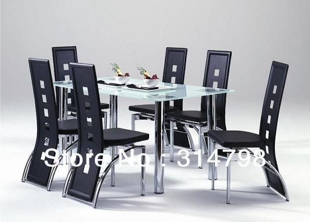 Patas para comedores for Comedores en acero y vidrio
