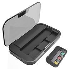 The New JUUL Travel Charger Travel Case Portable Power Bank Pod Holder Charger 3 Pod Positions Device Is Not Included